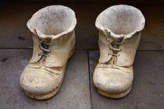 pierre de chaussures Images stock