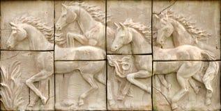 Pierre de cheval Images libres de droits