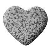 pierre de coeur Photographie stock