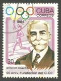 Pierre de Coubertin Lizenzfreie Stockfotografie