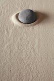 Pierre de méditation de zen Image libre de droits