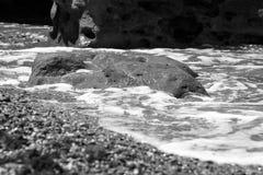 Pierre de mer Image libre de droits