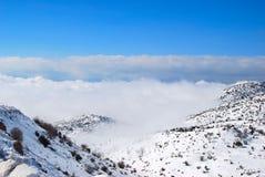 pierre de montagne Images libres de droits