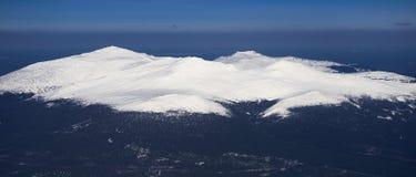 Pierre de montagne de Konzhakovsky dans les Monts Oural Photos stock