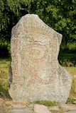 Pierre de runes Photos libres de droits