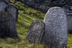 Pierre de tombeau Photos libres de droits