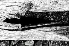 Pierre en bois images libres de droits