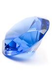 Pierre gemme bleue Image libre de droits