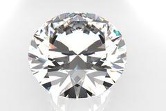 Pierre gemme de diamant de coupure d'Européen Image libre de droits