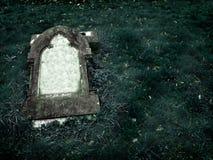 Pierre grave gothique avec l'espace libre pour le texte Photographie stock