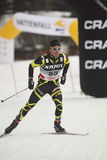 Pierre Guedon - french cross country skier Stock Image