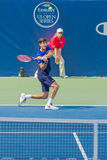 Pierre-Hugues Herbert at the Winston-Salem Open Stock Images