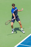 Pierre-Hugues Herbert at the Winston-Salem Open Royalty Free Stock Images