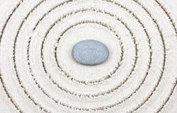 Pierre japonaise de zen de jardin de jardin de zen images libres de droits