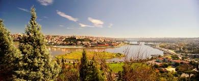 Pierre Loti Hill, Istanboel, Turkije Royalty-vrije Stock Afbeelding