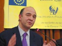 Pierre Moscovici Stockbild