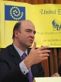 Pierre Moscovici Lizenzfreies Stockfoto