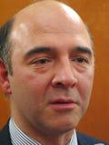 Pierre Moscovici Lizenzfreies Stockbild