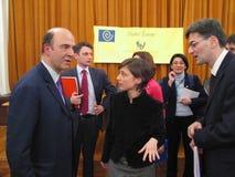 Pierre Moscovici Lizenzfreie Stockbilder