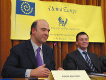 Pierre Moscovici Stock Photo