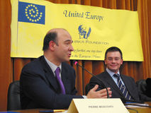 Pierre Moscovici Stock Image