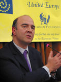 Pierre Moscovici Royalty Free Stock Photography