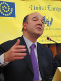 Pierre Moscovici Royalty Free Stock Photo