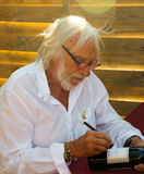 Pierre Richard at his winery Stock Image
