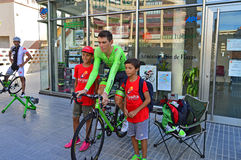 Pierre Roland Cannondale Drapac Royalty-vrije Stock Afbeelding
