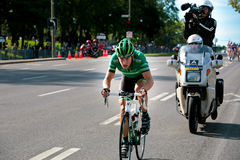 Pierre Rolland FRom the Europcar Team Royalty Free Stock Photo