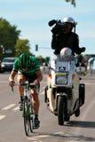 Pierre Rolland vom Europcar Team Stockfotografie