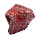 Pierre rouge de jaspe Image libre de droits