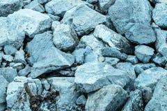 Pierre sur la plage Photographie stock libre de droits