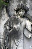 Pierre tombale d'ange - plan rapproché 2 (4764) Photographie stock libre de droits