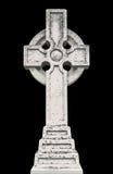 pierre tombale de croix celtique de 19ème siècle Photo libre de droits