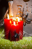 Pierre tombale de Halloween Image stock