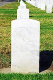 Pierre tombale de marbre Photos libres de droits