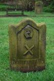 Pierre tombale de Saxon Images libres de droits