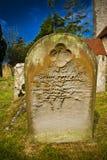 pierre tombale gothique Photographie stock