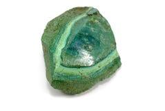 pierre verte Photographie stock