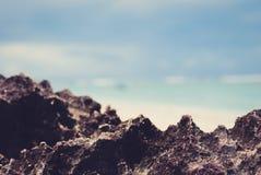Pierre volcanique Photo libre de droits