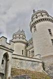 Pierrefonds城堡  免版税库存图片