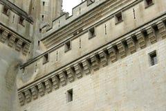 Pierrefonds城堡  免版税库存照片