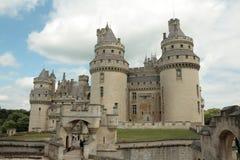 Pierrefonds城堡  免版税图库摄影