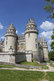 Pierrefonds Castle, Picardy, France Stock Photo