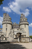 Pierrefonds Castle, Picardy, France Stock Images