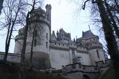 Pierrefonds-Schloss Lizenzfreie Stockfotografie