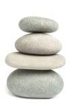 pierres équilibrées Photo stock