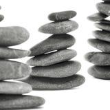 Pierres équilibrées de zen Photos stock
