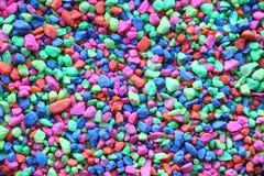 Pierres colorées Photographie stock libre de droits